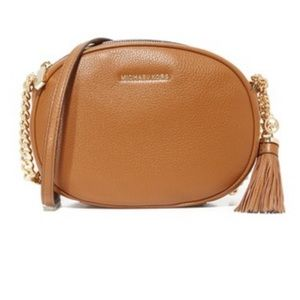 MK tassel crossbody bag